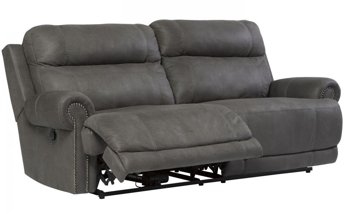 Austere Gray Reclining Sofa Home Pinterest Grey