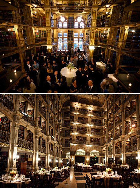 A Library Inspired Wedding Alexan Events Denver Wedding