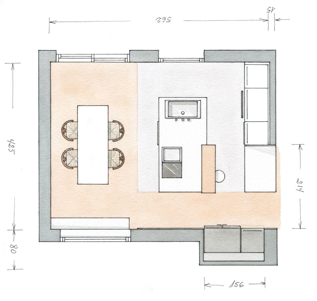 Plano Cocina Casa Tudela Pinterest Planos Imagenes