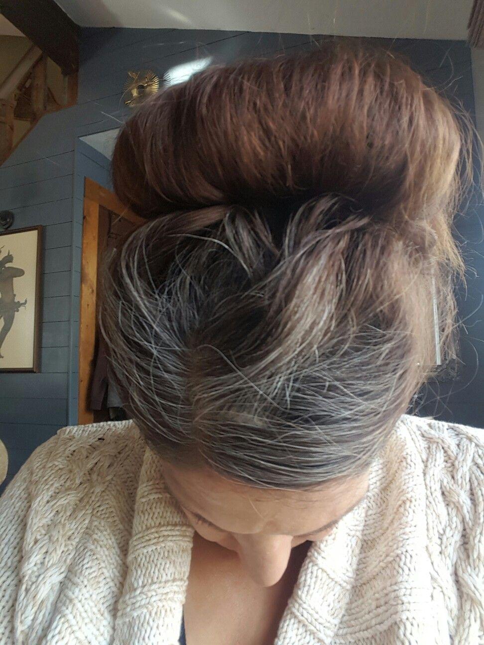 12 Weeks Gray Transition Cheveux Gris Conseils Et