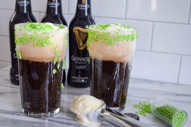 Guinness Ice Cream Floats
