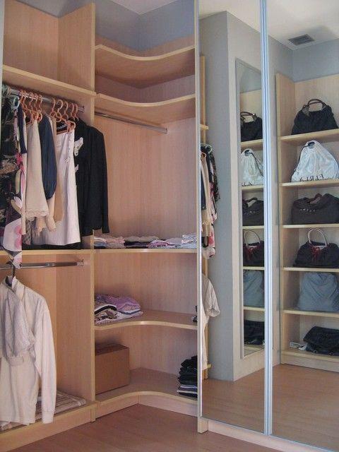 Modern Corner Closet Organizer