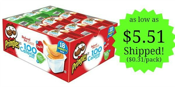 Pringles 2 Flavor Snack Stacks 18-Count as low as $5.51! ($0.31 each)