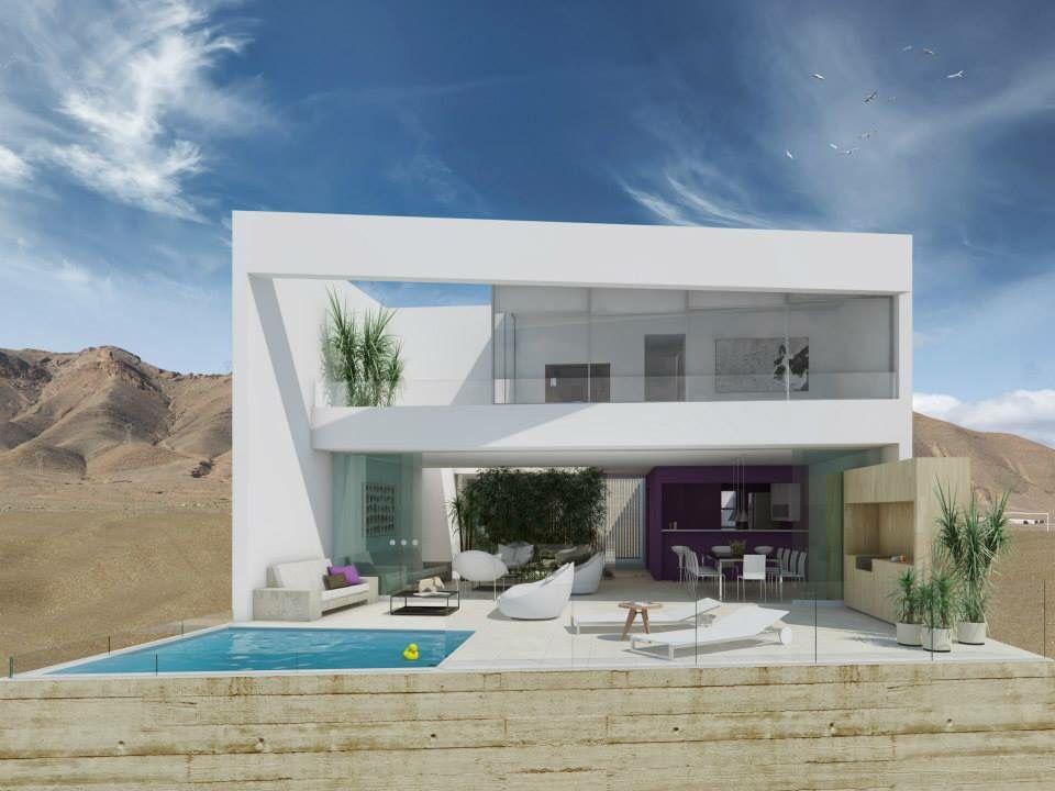 Casa ave fachada frontal proyecto construido pronto for Fachadas de casas modernas en lima