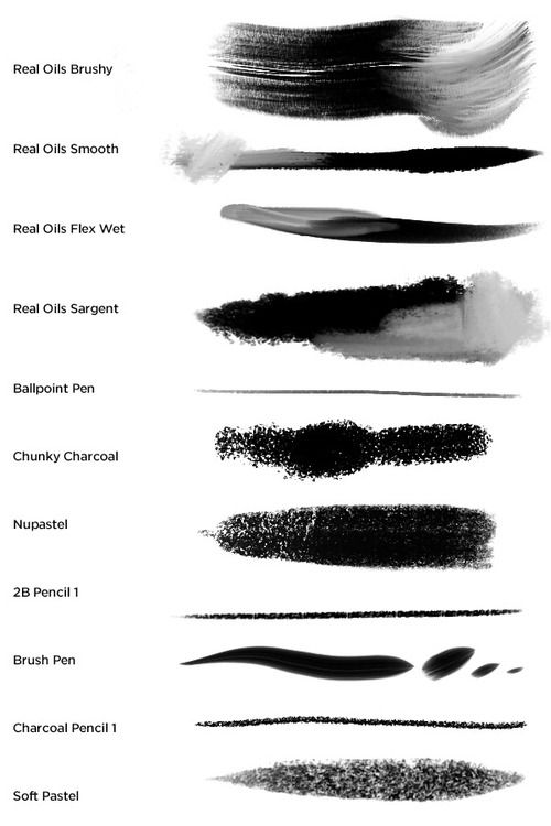 Make It A Beautiful Howl Clip Studio Paint Brushes Photoshop