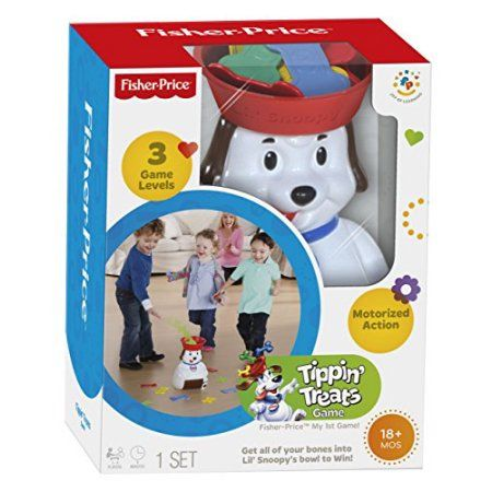 Christmas Buy Now Fisher-Price Lil\u0027 Snoopy Tippin\u0027 Treats Game for - christmas toy sales