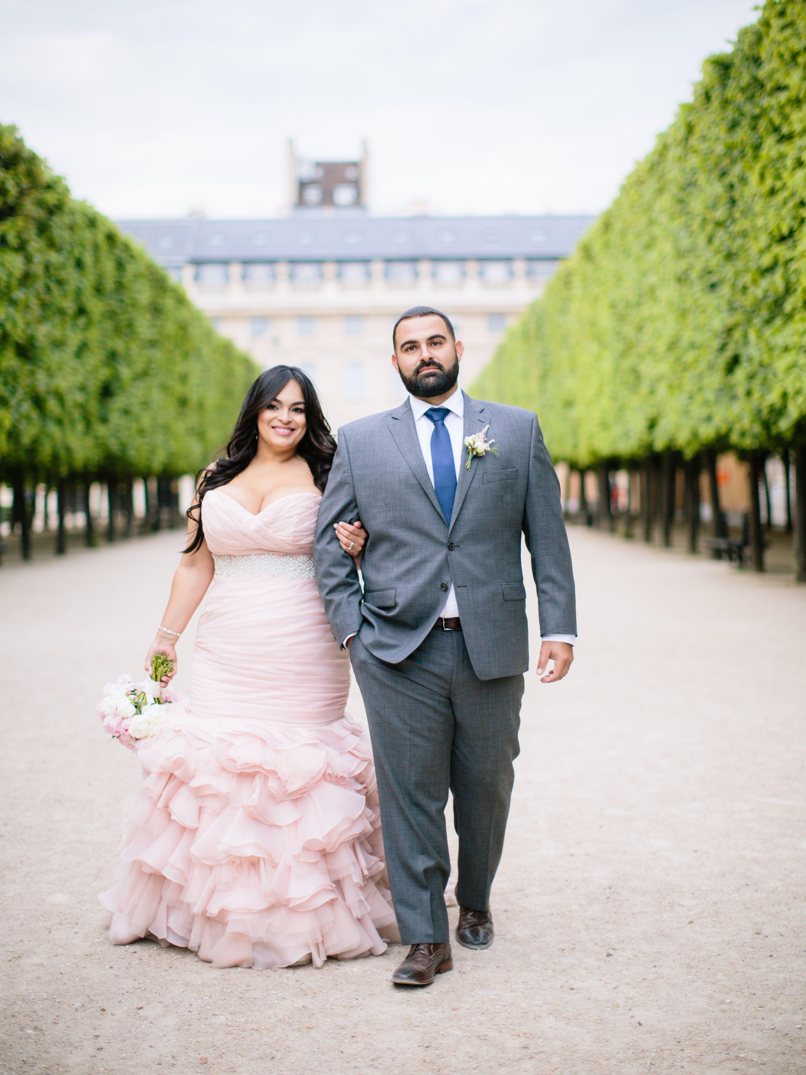 Plus size pink wedding dresses  Blush Divina Wedding Dress  Vestidos novia  Pinterest  Wedding