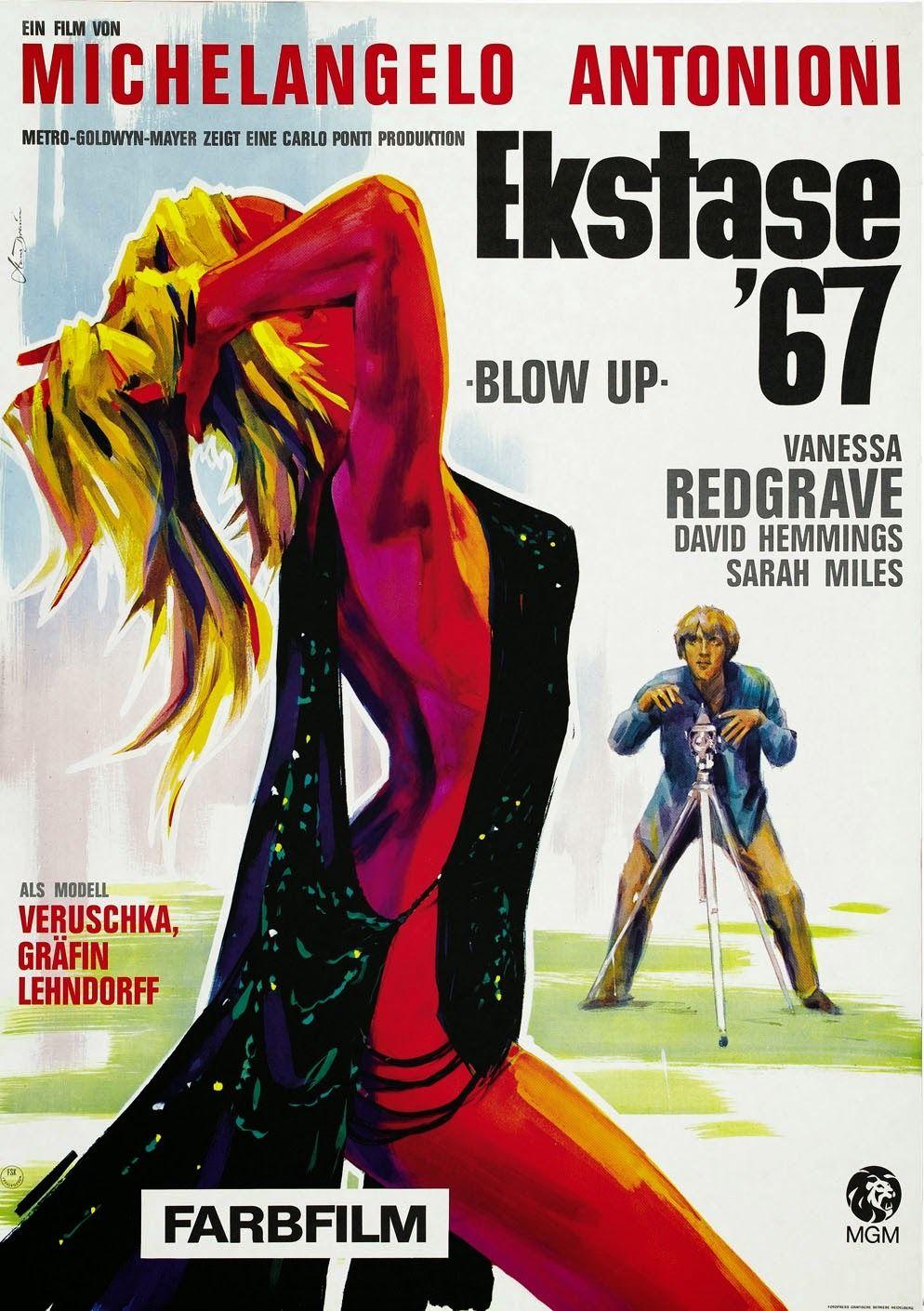 Blowup 1966 En 2020 Carteles De Cine Afiche De Cine Afiche De Pelicula