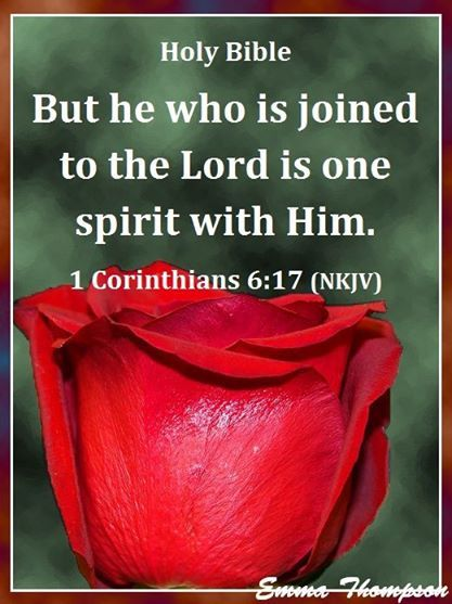 1  CORINTHIANS  6:17