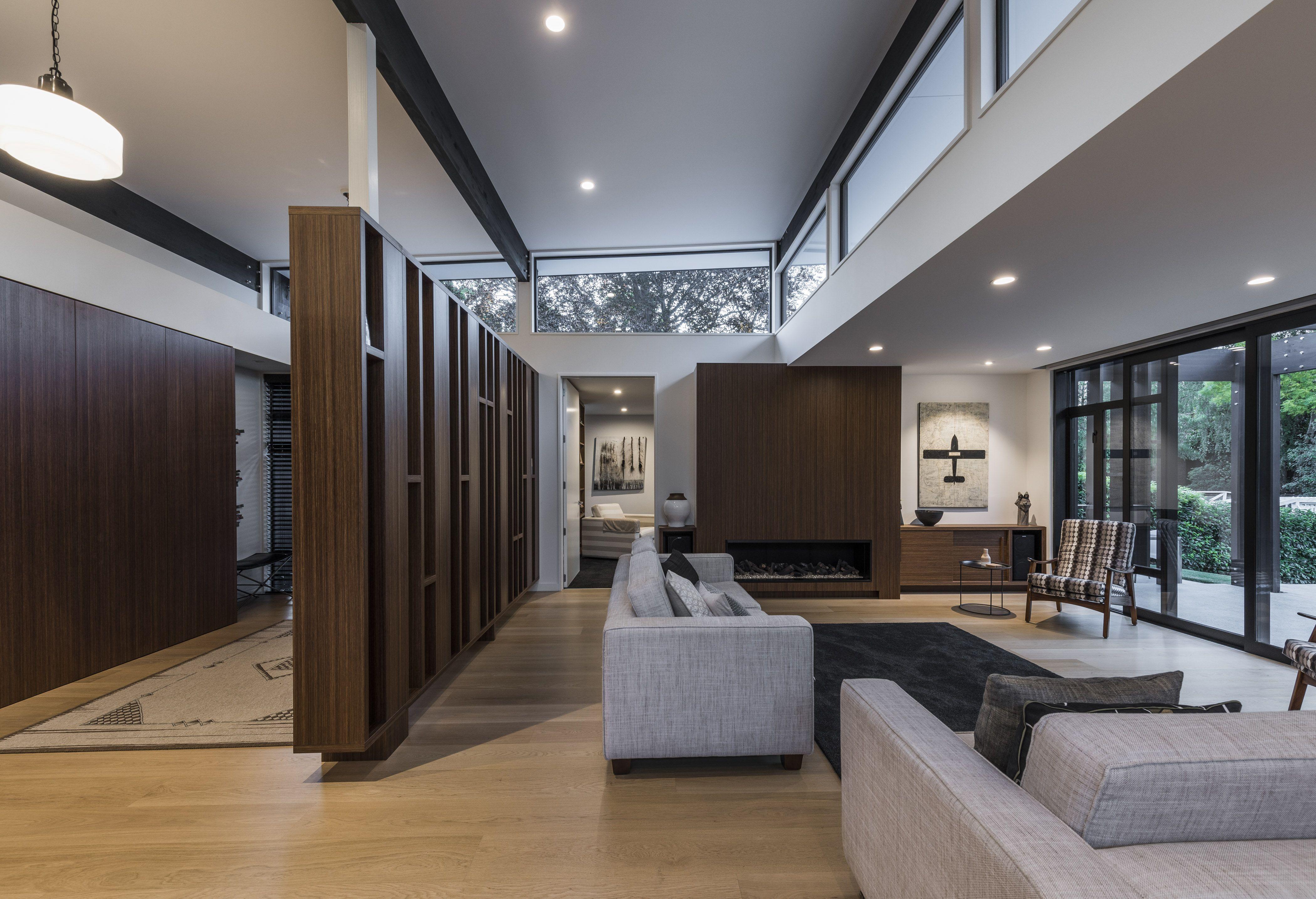 A luxury living room designed by don roy cymon allfrey from cymon alfrey architects ltd livingroom adnz architecture
