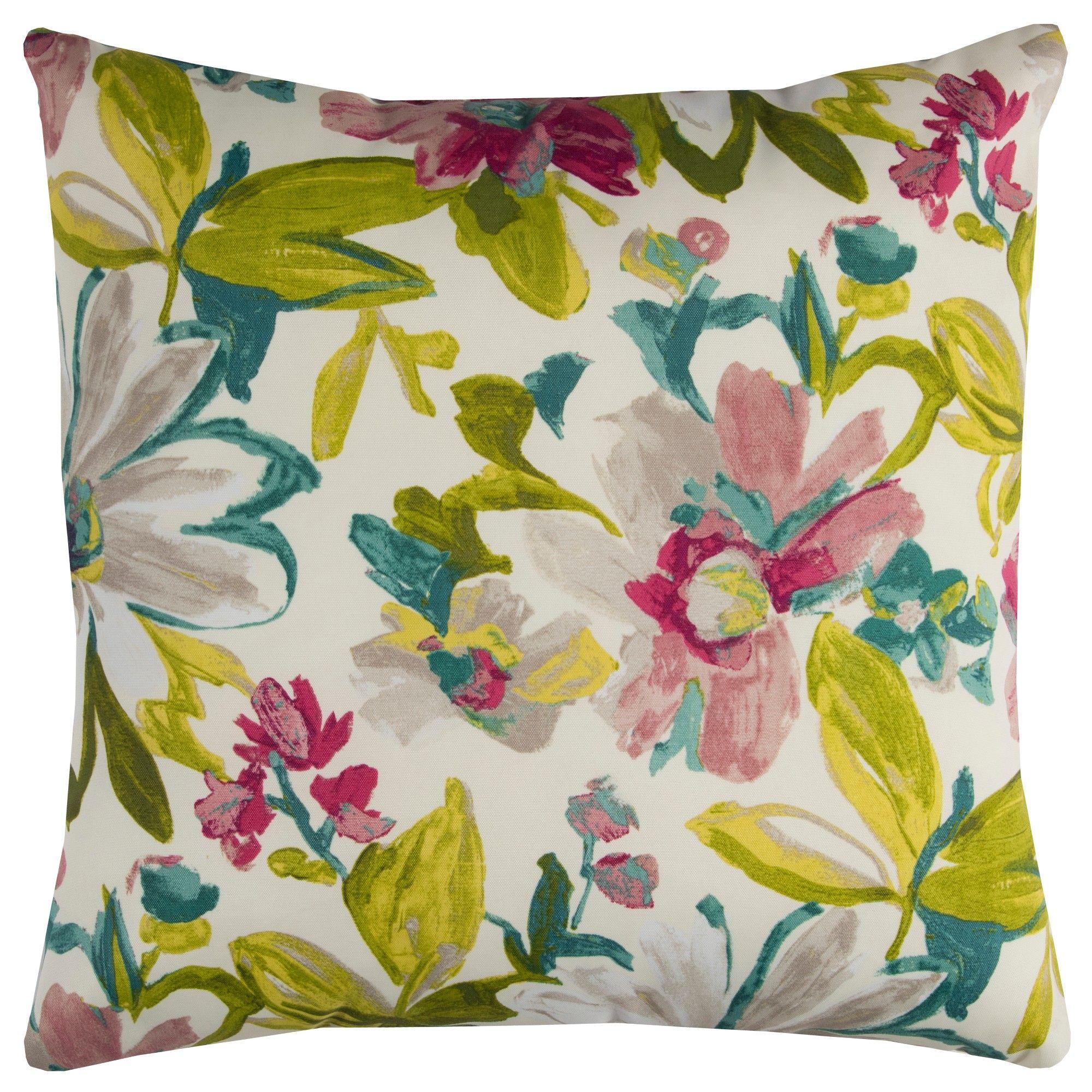 Rizzy Home Elberta Throw Pillow Purple