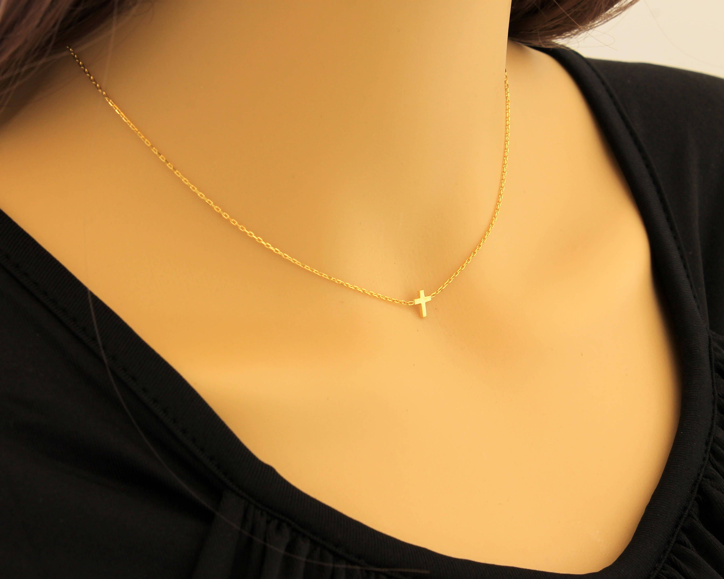 shop whisk gold tiny handmade necklace pendant on mary products