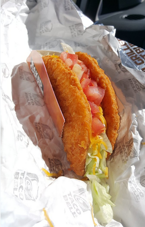 Taco Bell ditching Naked Chicken Chalupa in March