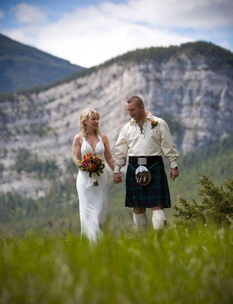 Wedding At Hoodoo Meadows In Banff Alberta