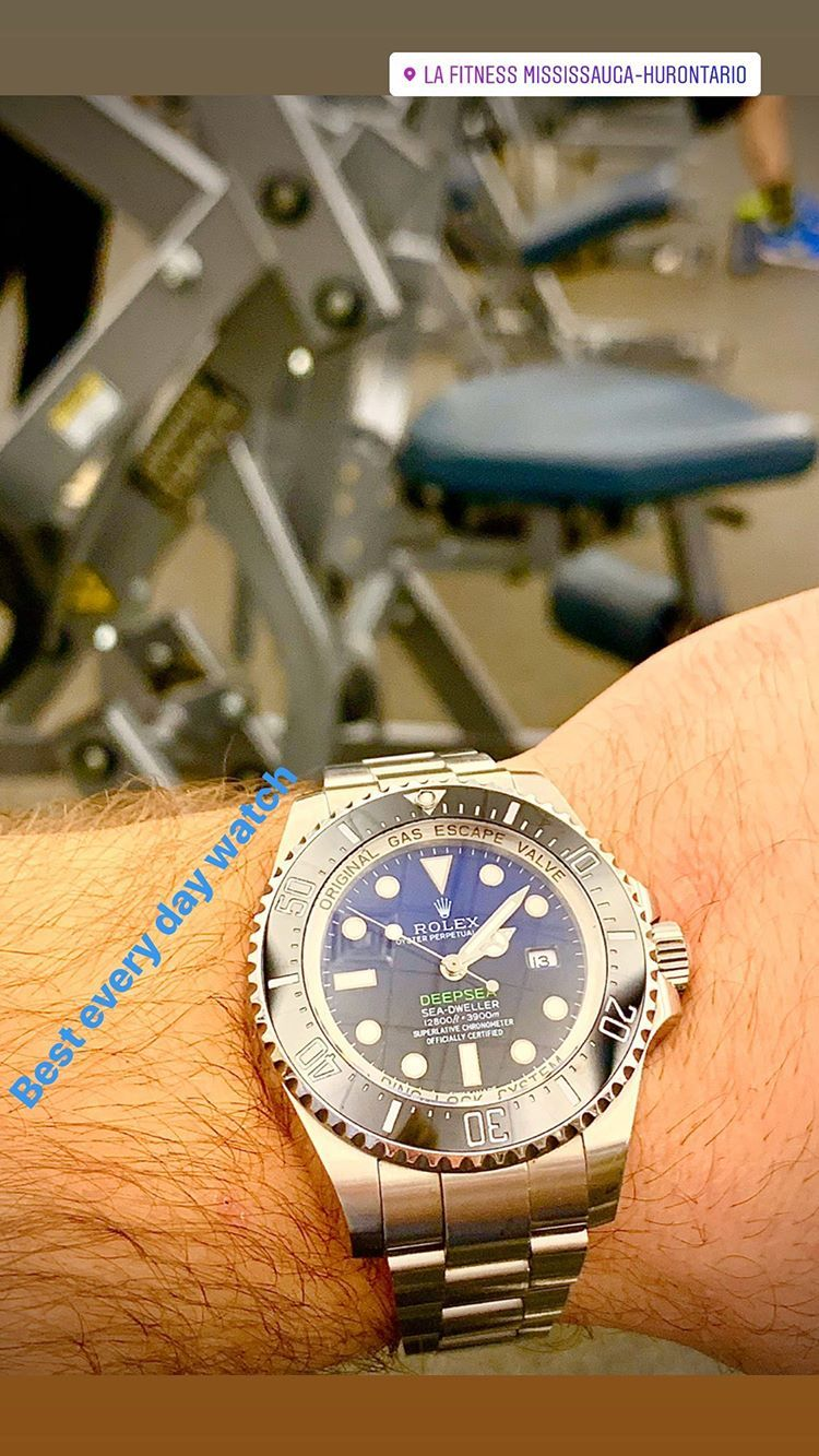 rolex watches for men bleu and black glow in the dark in