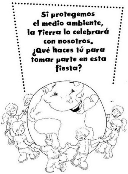 Imagenes Con Frases De Cuidar La Tierra Para Colorear Día De La Tierra Actividades Del Día De La Tierra Cuida La Tierra