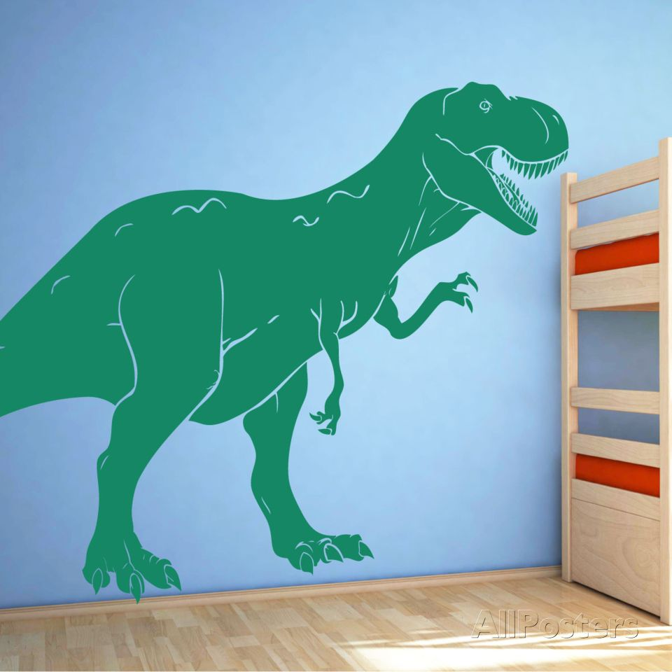 T rex dinosaur wall decal wall decal at allposters pretty t rex dinosaur wall decal wall decal at allposters amipublicfo Images