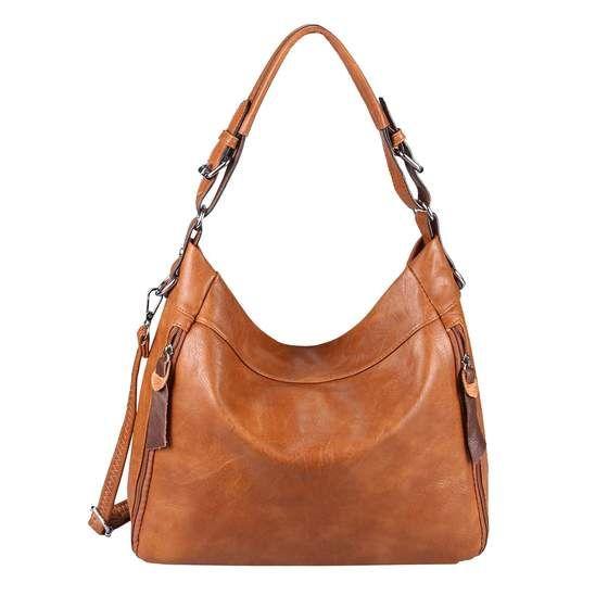 Photo of OBC Damen Tasche Shopper Hobo-Bag Schultertasche