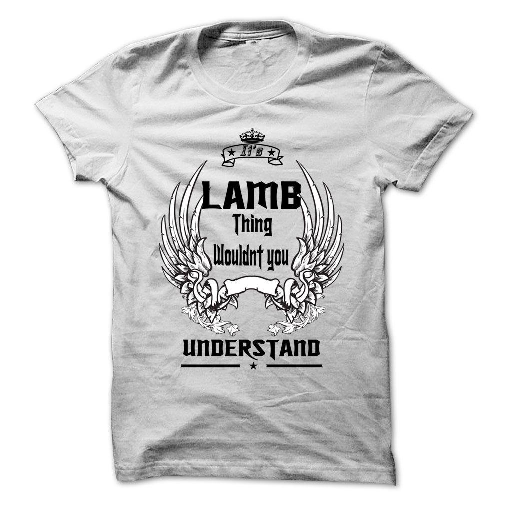 Is LAMB Thing - 999 Cool Name Shirt ! | Names T-Shirts and Hoodies ...