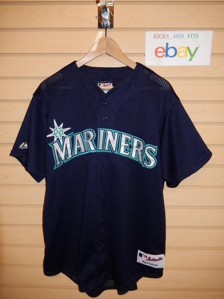 5de718aa9 Men s Seattle Mariners Majestic MLB Authentic Collection Jersey Large USA  Sewn  Majestic  SeattleMariners