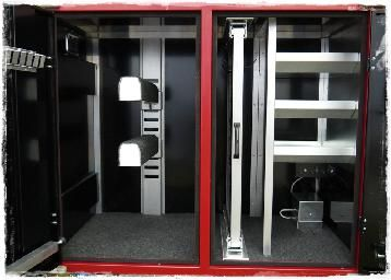 Awesome Custom Made Portable Tack Trucks Lockers Camion Chevaux Camion Armoire