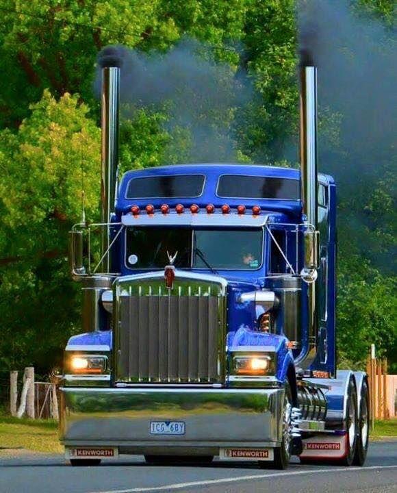Classic Kenworth Truck With Images Kenworth Trucks Big Trucks