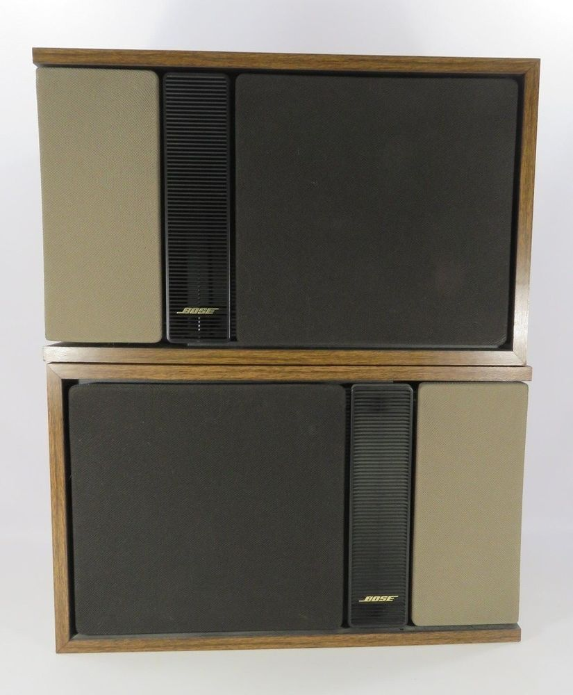 Bose 301 Series II Direct Reflecting Bookshelf Speakers Right And Left JH