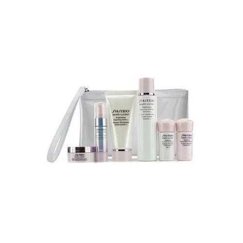 White Lucent Set: Cleansing Foam 50ml + Softener 75ml + Serum 9ml + Emulsion 15ml + Emulsion SPF 15 15ml + Cream 18ml + Bag 6pcs+Bag