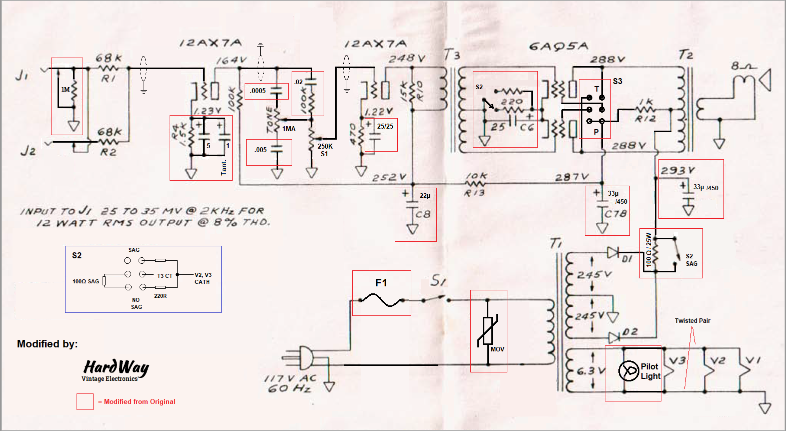 Fender Musicmaster Bass Amp Modifications Guitar For Studio Pin Theremin Circuit Schematic Diagram On Pinterest