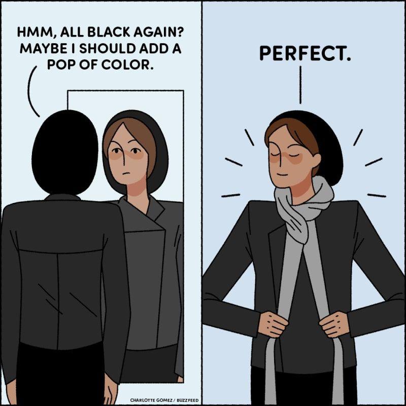21 Jokes You Ll Appreciate If You Only Wear Black Wearing Black