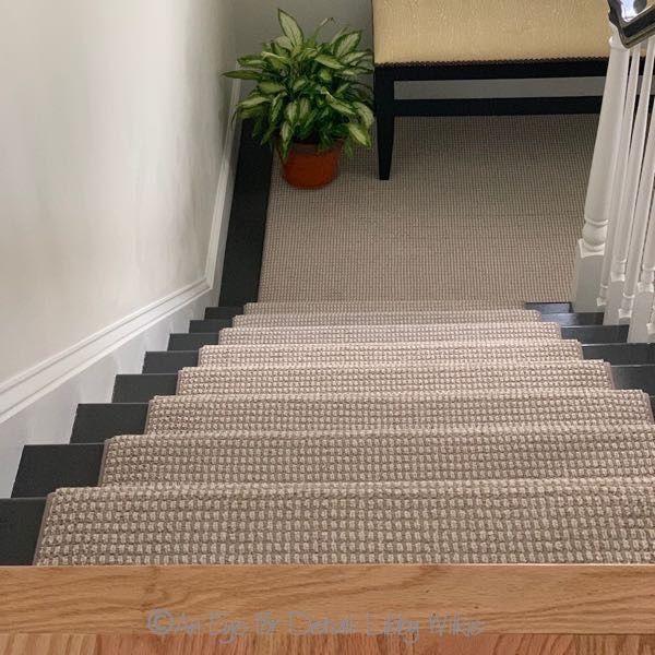 Best The Berber Carpet And The Dark Treads Make This Update 400 x 300