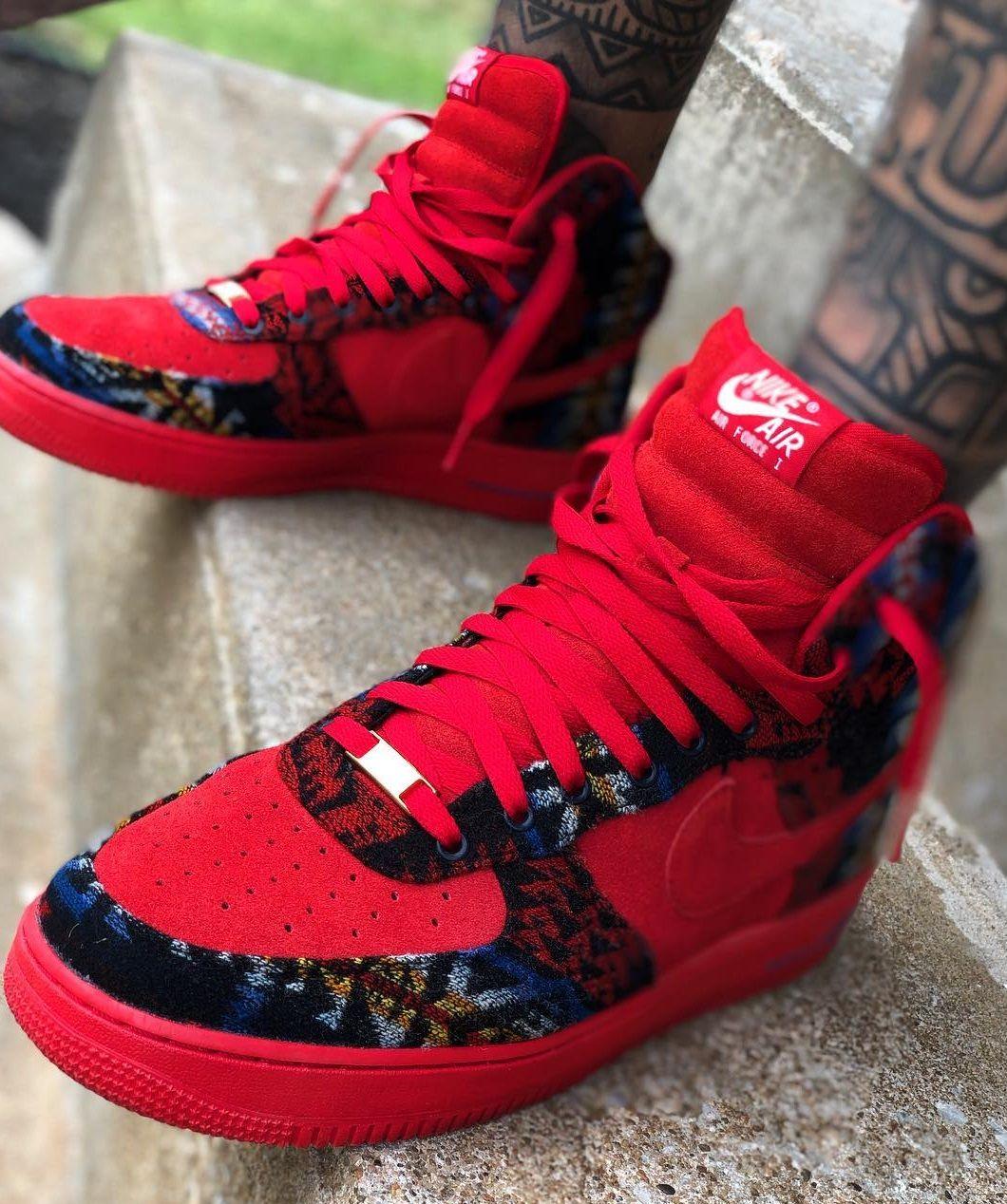 Nike Air Force 1 High Nikeid Hype Shoes Mens Nike Shoes Sneakers Nike Jordan