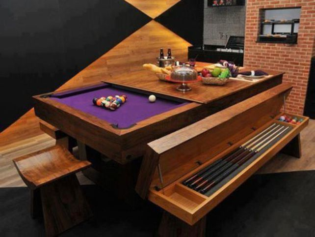 Pool Table That Becomes A Dining Room Table Dining Room Pool