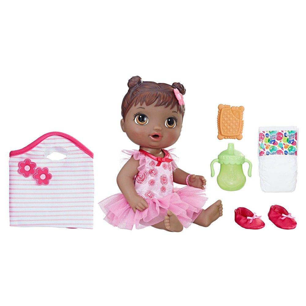 Baby Alive Dance Class Baby Doll Black Hair Baby Dolls Baby Alive Baby Doll Accessories