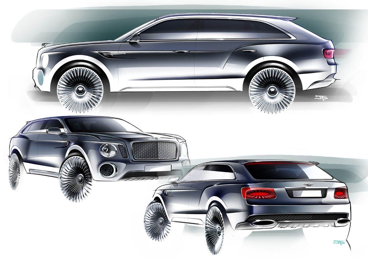OG | Bentley SUV | Sketch