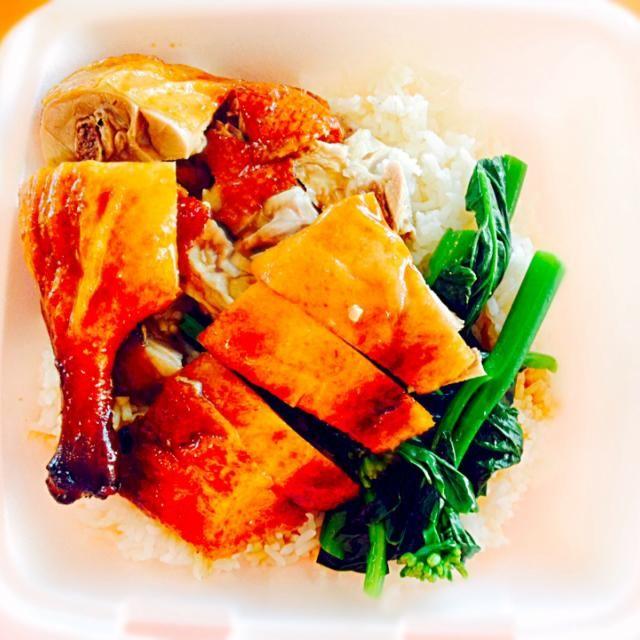 レシピとお料理がひらめくSnapDish - 1件のもぐもぐ - BBQ duck and veggies on rice :D by KHaylee09