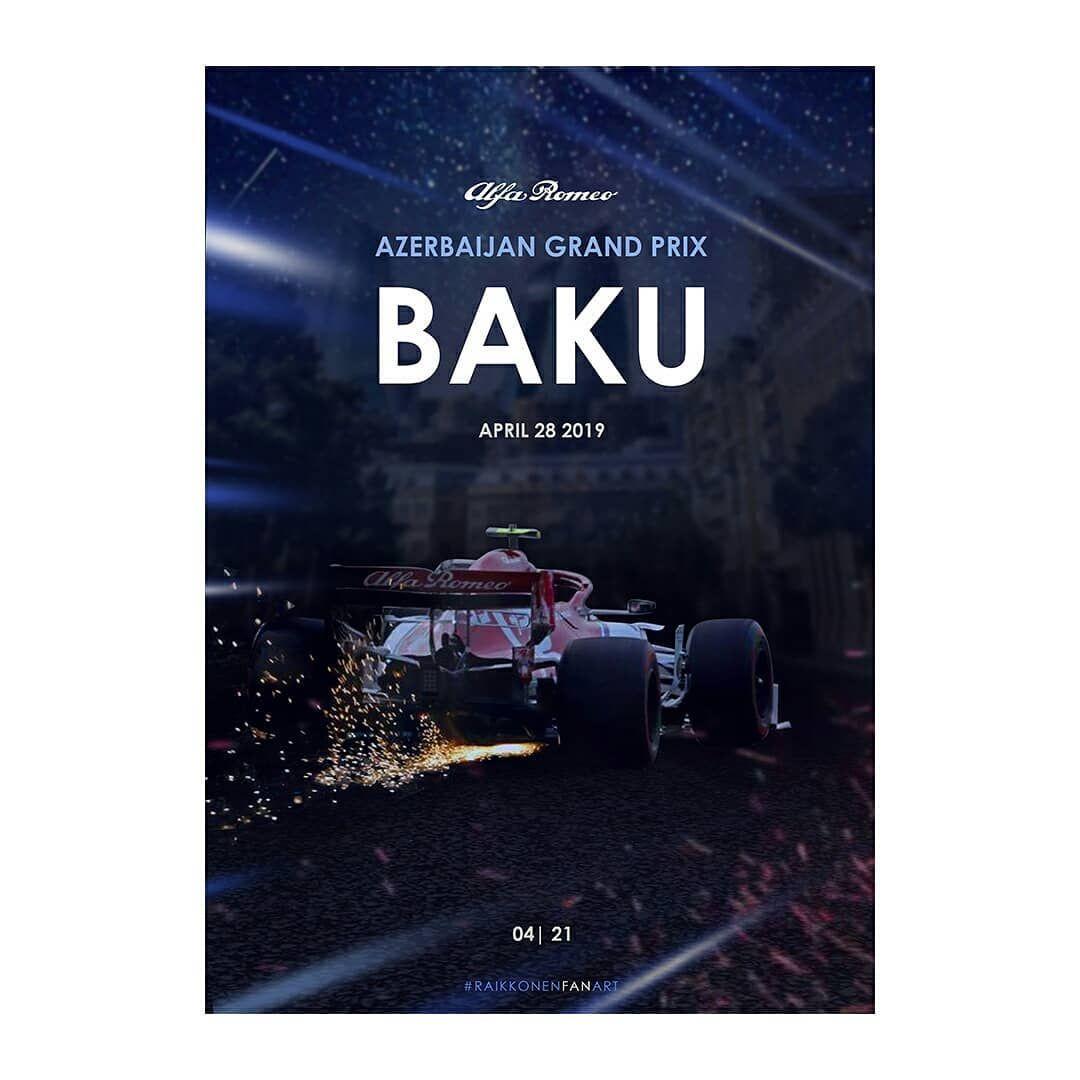 Poster F1 Baku 2019 Azerbaijan Grand Prix Grand Prix Fan Art