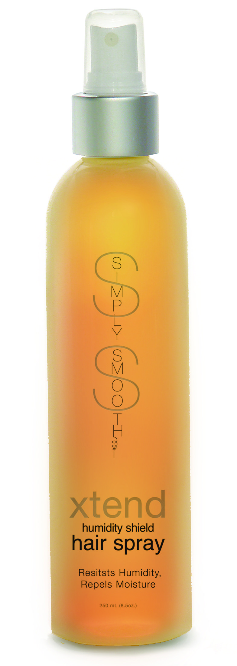 Simply Smooth xtend humidity shield hairspray is botanically blended, keratin infused, non-aerosol hair spray. Light weight, non-flaking spray resists humidity, repels moisture, and leaves hair touchable.