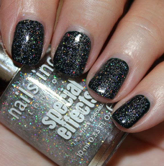 Nails Inc. Special Effects Holographic Top Coat Electric Lane | My ...