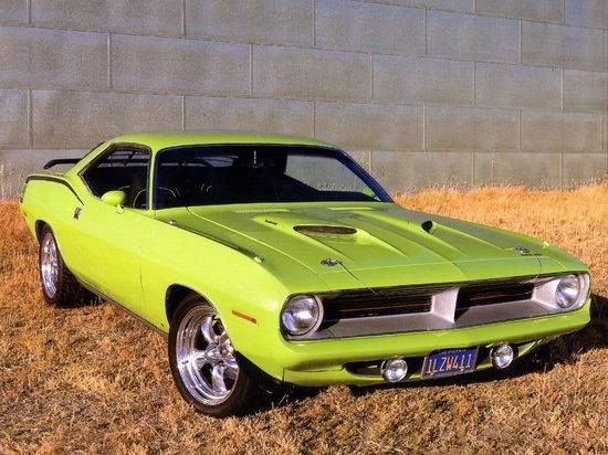 1970 Plymouth Cuda 440 Coupe Mopar Old Muscle Cars Classic Cars Muscle