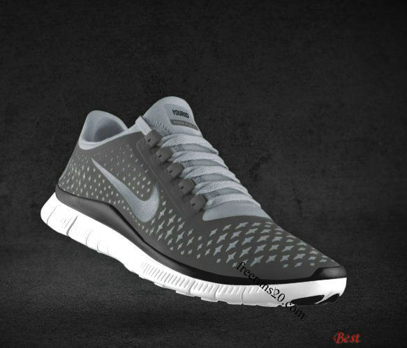 new styles 205af 8a4b6  48.98 Cheapest Womens Nike Free 3.0 V4 Coffee Reflect Silver Iguana  Transparent Grey Lace Shoes