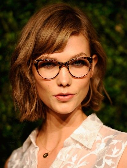 Librarian Style Hair And Glasses Layers Messy Short Hair Styles 2013 Jpg 413 546 Face Shape Hairstyles