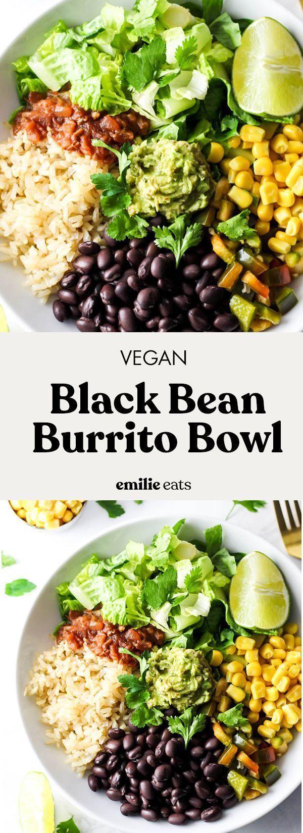 Photo of Vegan Burrito Bowl – Emilie eats, #Bowl #Burrito #simple dishesvegetarian #Emilie # eats …