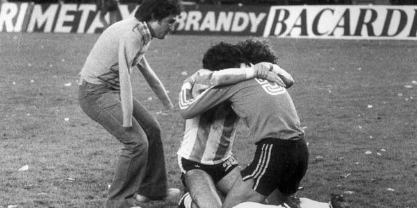 Final del mundial '78, el hincha que abrazo con el alma, Victor Dell''Aquila. - Ricardo Alfieri