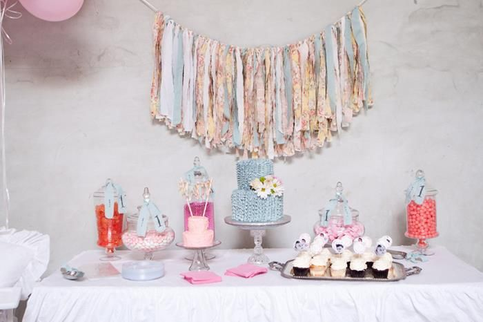 Shabby Chic Party Theme