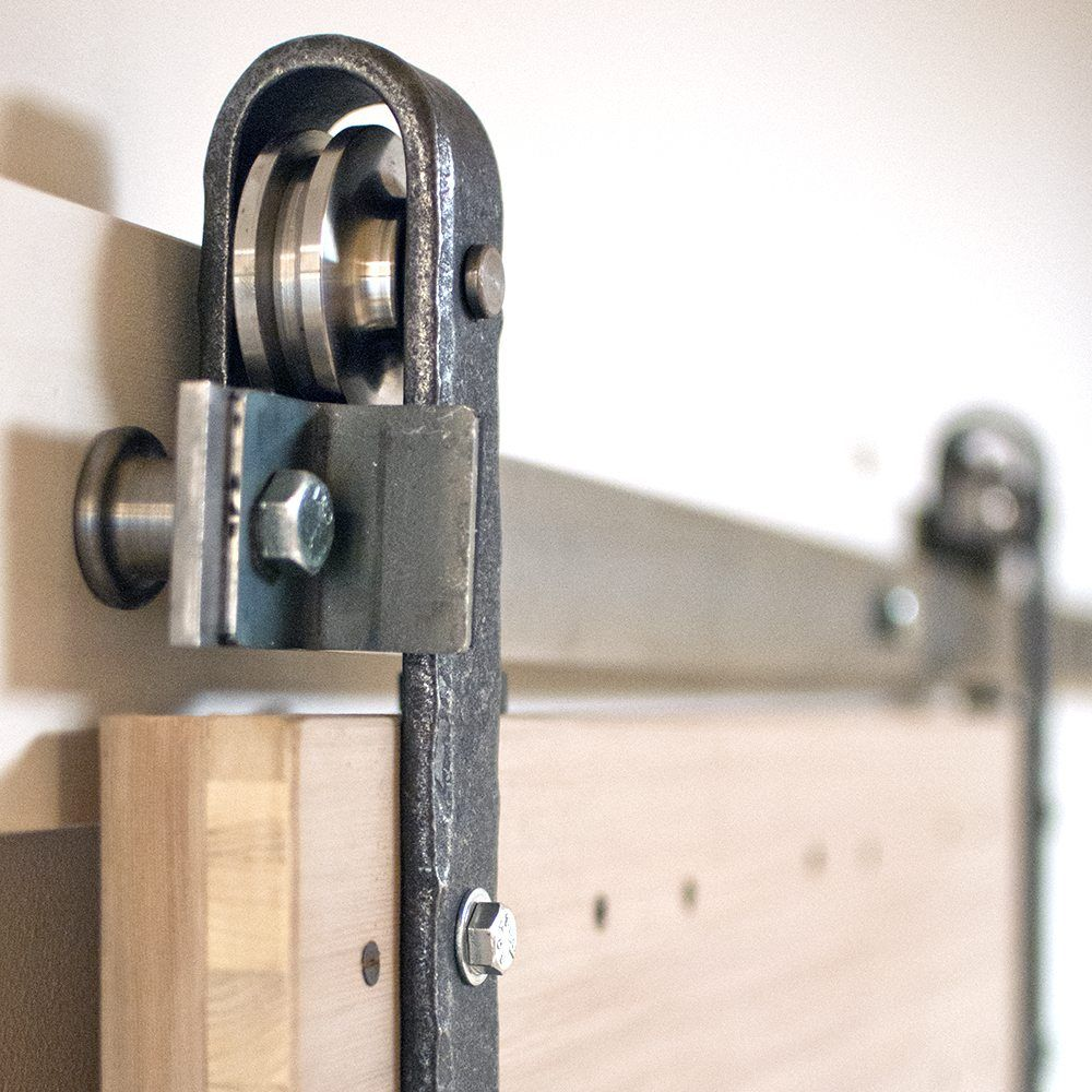 Hammered Barn Door Hardware Kit Hanging Barn Doors Doors Inside Barn Doors