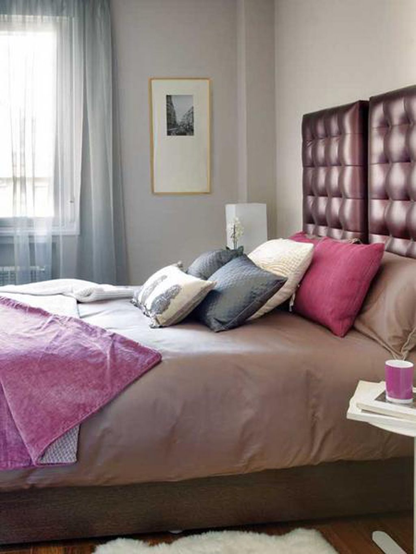 Bedroom Minimalist Bedroom Design With Brown Leather Headboard Astonishing Bedrooms  Design Ideas Interior Design   GiesenDesign