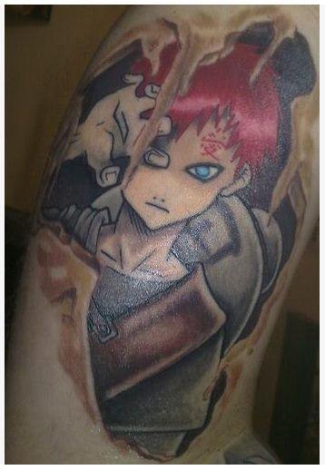 Gaara Gaara Naruto Body Art Naruto Tattoo Tattoos Anime Tattoos