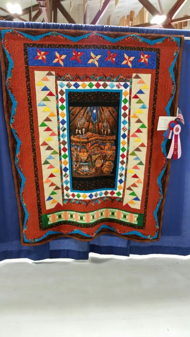 "Won 2nd place at the 2017 Umpqua Valley Quilter's Guild ""Majesty of Oregon"" Quilt Show."