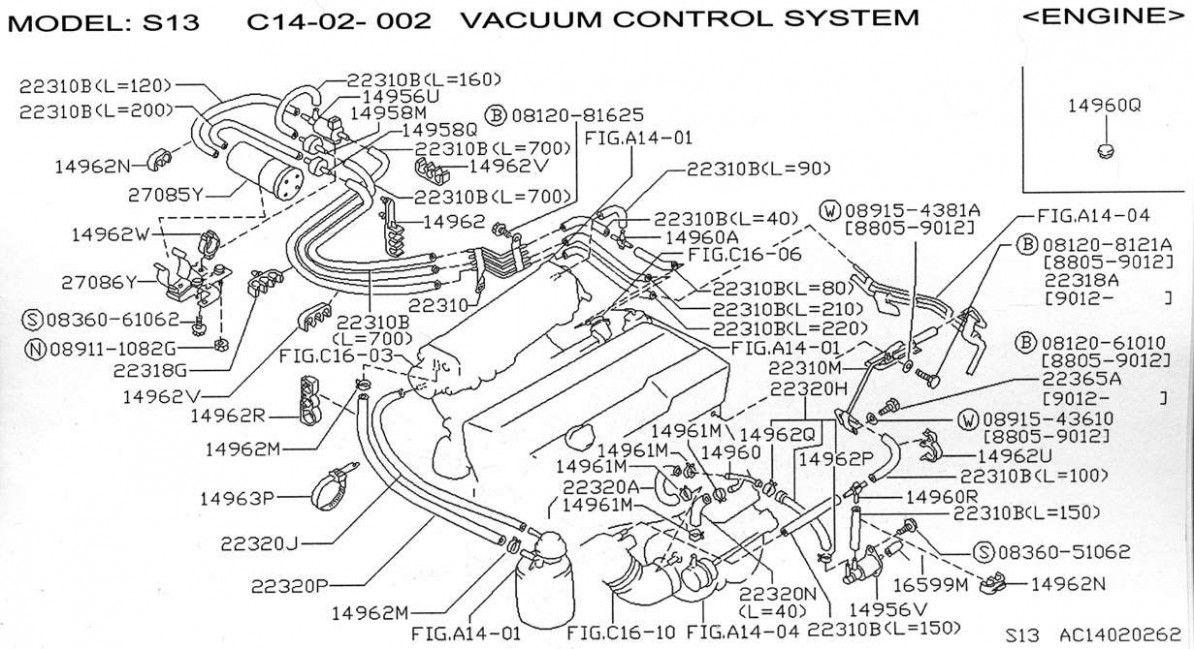 S5 Engine Bay Diagram di 2020Pinterest